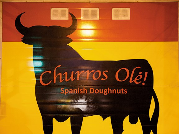 Churros Ole! Spanish doughnuts in Dunedin