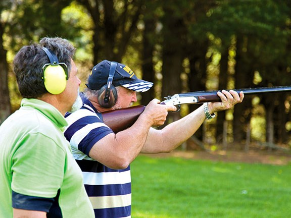 Claybird shooting at Mountain Valley Adventure Lodge