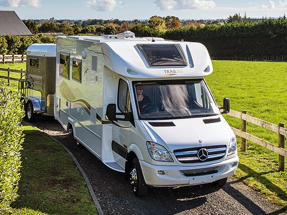 TrailLite motorhome for beginners