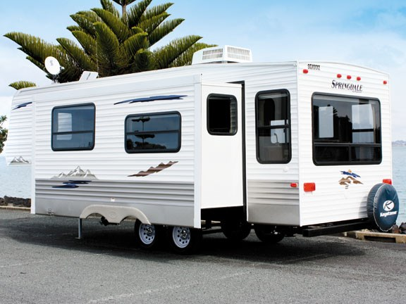 Kiwi RV Imports Ltd Is A Small Company In Whangaparaoa That Has Established  Itself As A Reliable Importer Of Springdale 5th Wheel Trailers