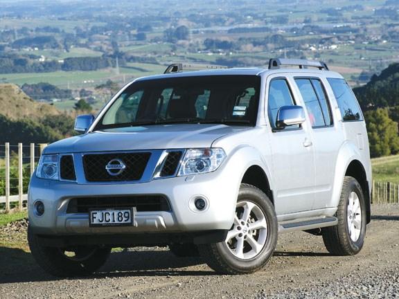 Tow Vehicle: Nissan Pathfinder