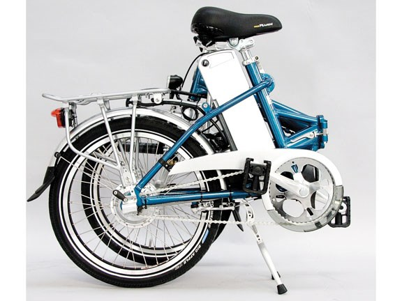Quando electric folding bike