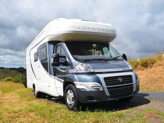 Auto-trail Tracker Rear Bed