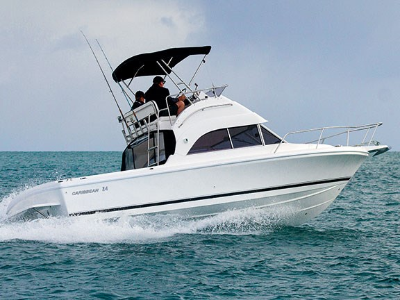 Caribbean 24 Flybridge Sports Fisher