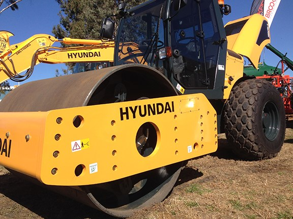 Compaction rollers are a new product line for Hyundai Construction Equipment Australia.