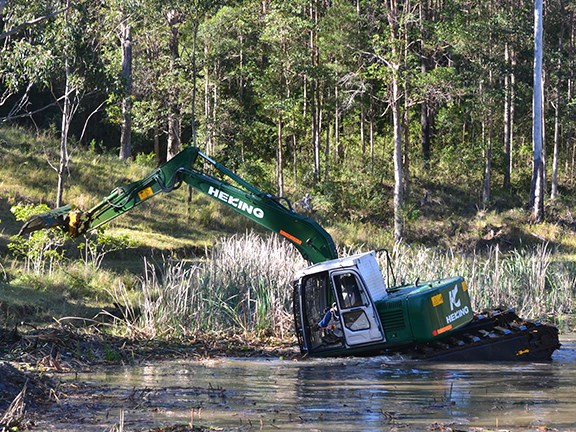 Wetlands are no place for unskilled or semi-skilled operators.