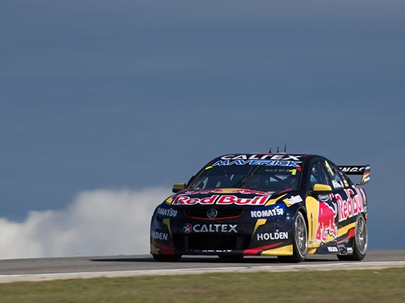 V8 Supercars Red Bull Racing Australia driver Jamie Whincup in action in the Perth 400. � Red Bull Media House