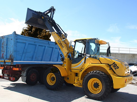 The PT series gives far higher lift height than standard loaders.