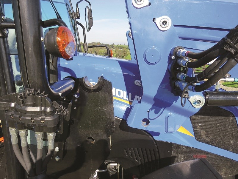 1075 Quicke Versa X 36 loader hang from subframe