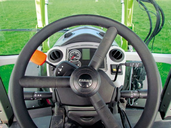 Claas Arion 620C interior