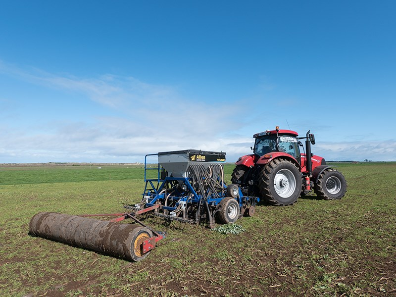 Allen TD3500 air seeder drill 1