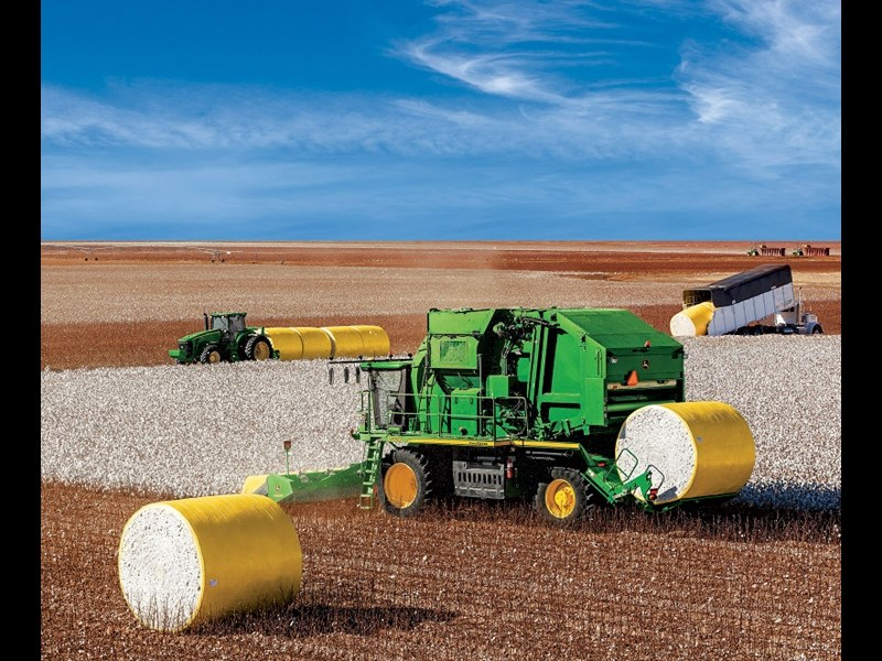 John Deere cotton stripper1
