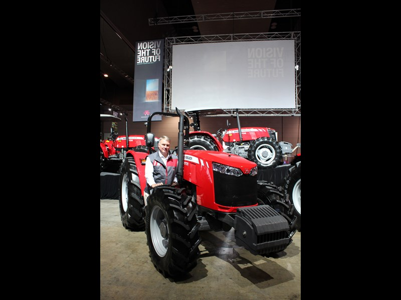 Massey Ferguson Global Series launch