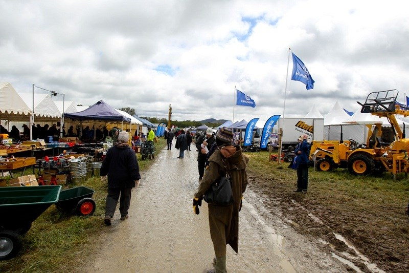 Murrumbateman field days rain and crowd