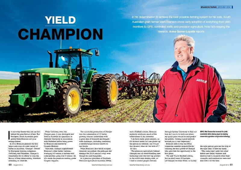 NFM issue 12 Branson Farms