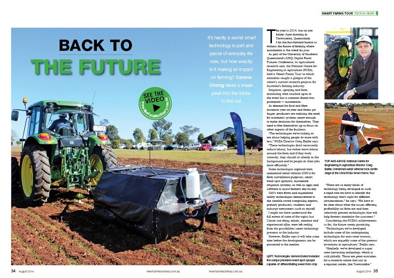 NFM issue 12 Smart Farms tour