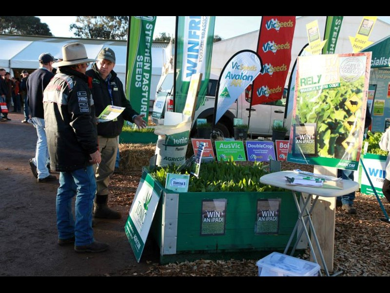 seed stall sheepvention