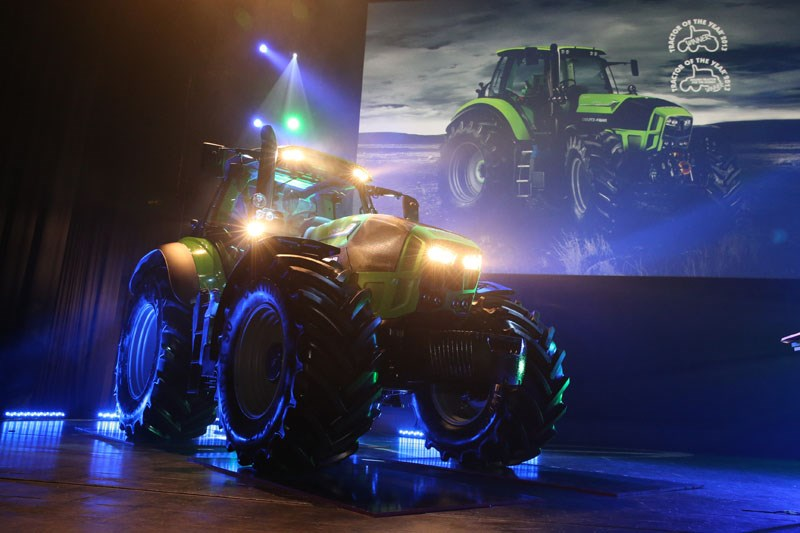 deutz-fahr agrotron launch