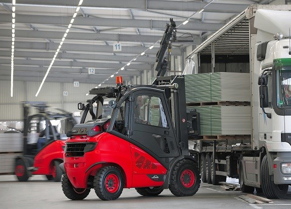 Linde H20-H50 EVO forklift application