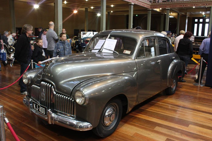 Holden KJ-400: a hand-shaped prototype for the 48-215