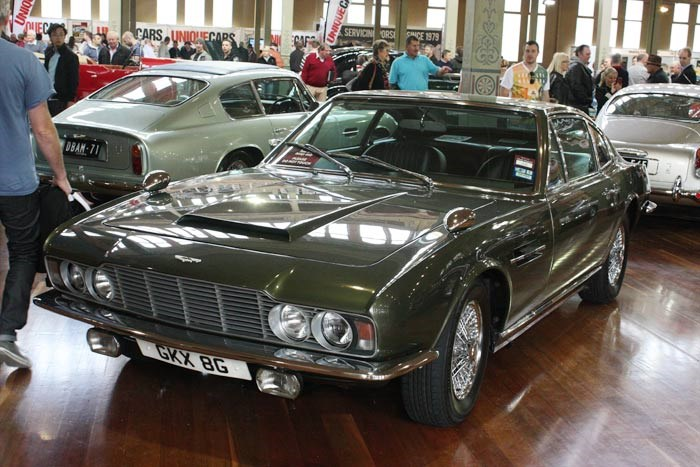 "1969 Aston Martin DBS Vantage used in ""Her Majesty's Secret Service"""