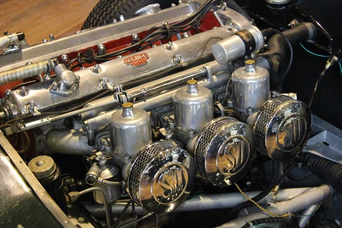1951 Jaguar C-Type (Proteus Replica) engine