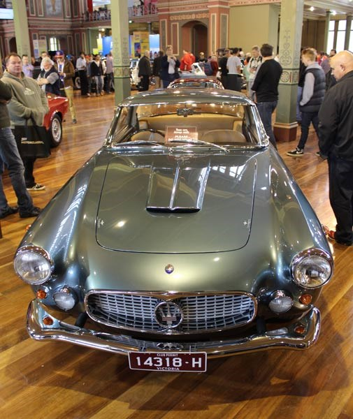1961 Maserati 3500 GT Superleggera Coupe