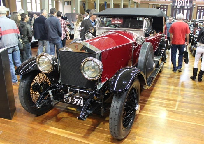 1921 Rolls-Royce Silver Ghost Rothschild Tourer