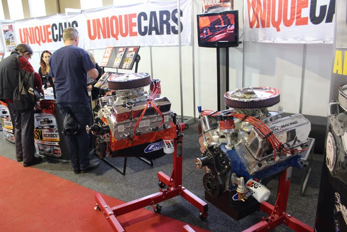 Unique Cars engine competition: 350ci Chevrolet & 351ci Cleveland V8s