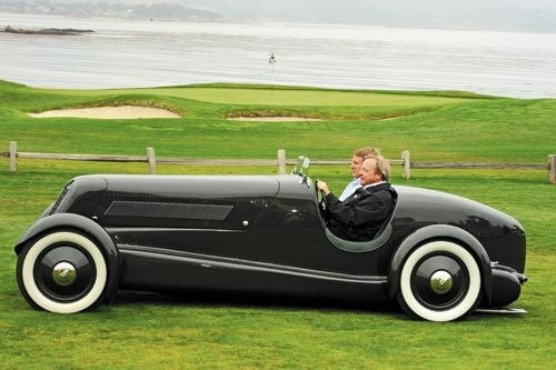 Ford Speedster at Pebble Beach