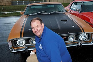 Rodney Hansen and his XA Falcon GT Hardtop