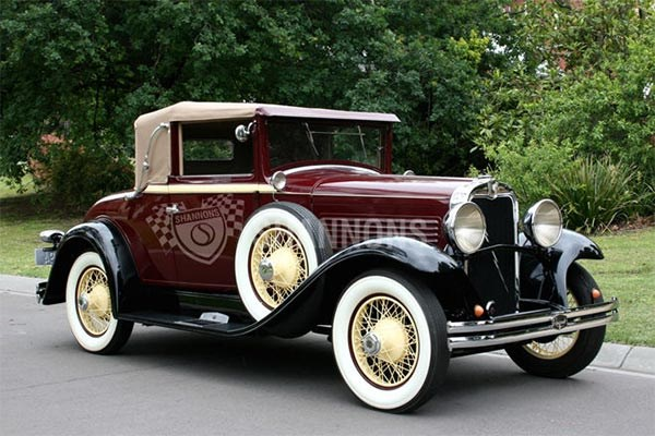 1929 Marmon Roosevelt 'Straight 8' Collapsible Coupe (RHD)