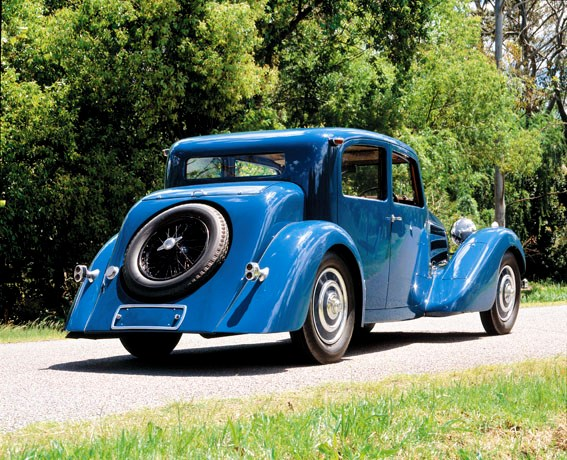 French masterpiece: Bugatti Type 57