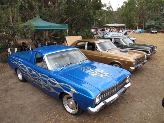 Picnic at Hanging Rock car show 2009