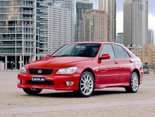 Buying a 1999-2005 Lexus IS200