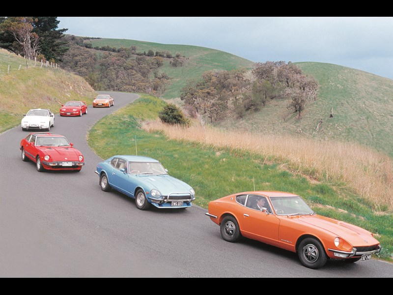 40 years of Z cars