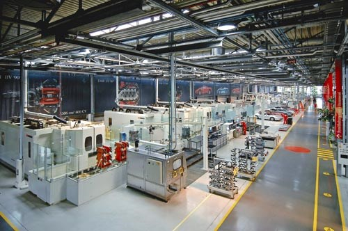 Inside the Ferrari factory