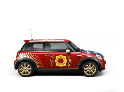 George Harrison's psychedelic Mini reinvented