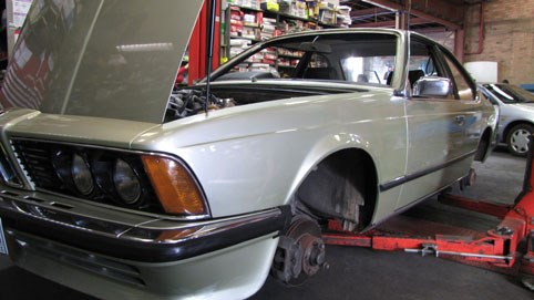 1978 BMW 635CSi Project - part 2: Getting a roadworthy