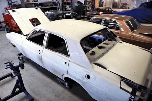 Project Falcon GT-HO
