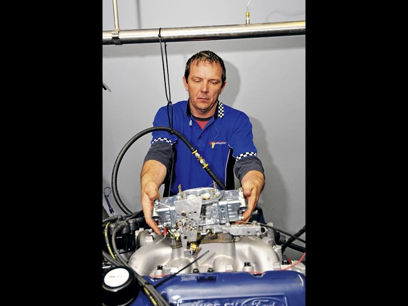 Porject Falcon GT-HO - building an engine
