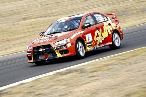 2009 TMR Mitsubishi Lancer Evo X RS (Production Car race spec)