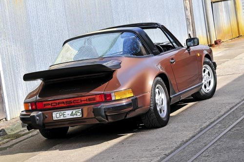 Joe Kenwright's 1985 Porsche 911 Targa 3.2