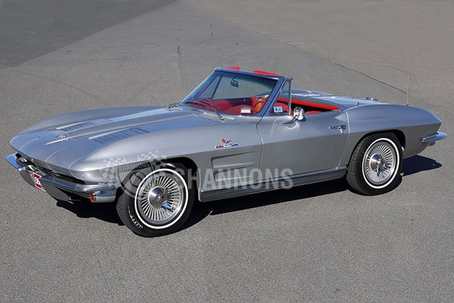 1963 Chevrolet Corvette Stingray 'Fuelie' Convertible