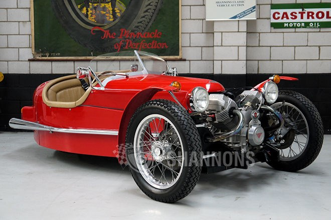 1984 Triking Morgan Replica 3 Wheeler
