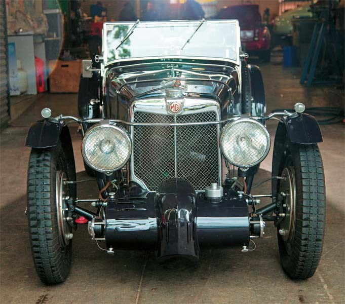 1933 MG K3 Magnette recreation