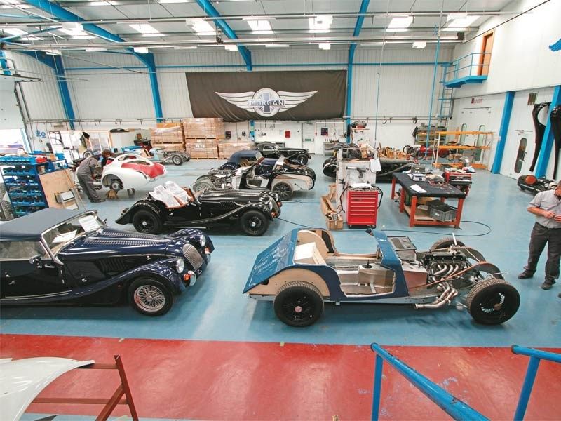 Morgan factory