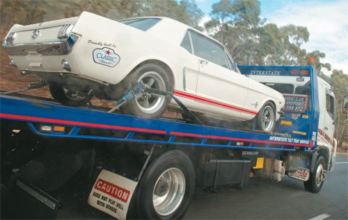 Project Mustang arrives in Melbourne