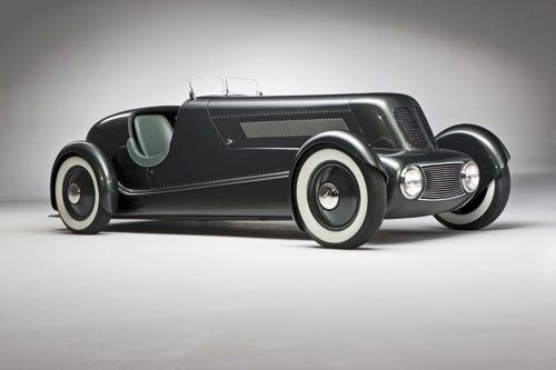 Ford Speedster: Based on a 1934 Ford Model 40 chassis
