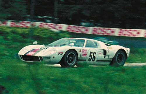 Ford GT40 tribute